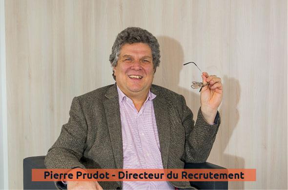 Pierre Prudot - Directeur du recrutement